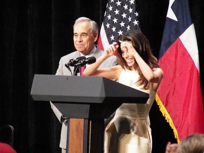 Congressman Charlie Gonzales, Hollywood Actress Eva Longoria