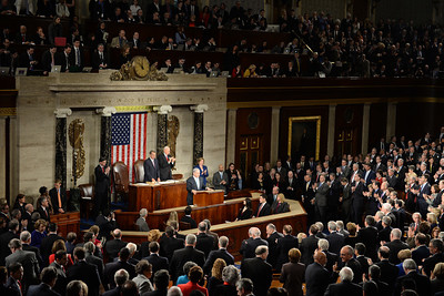Israeli Prime Minister Benjamin Netanyahu gives his  controversial speech to Congress .