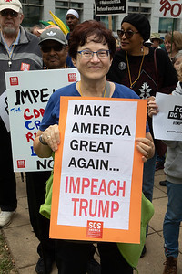 President Trump Impeachment Protest in Washington D.C.