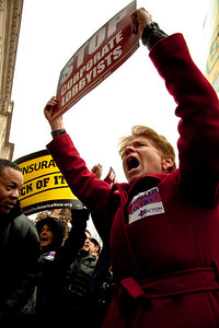 Health Care Now rally (1/26/10)