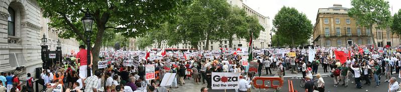 Gaza Demo - Whitehall London