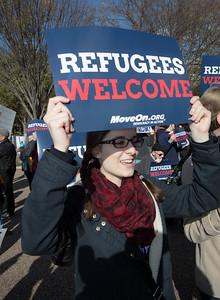 Syrian Refugee Protest