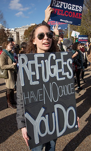 Syrian Refugee Protest