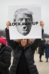 Women's March on Washington, Donald Trump