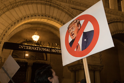 Anti-Trump Protest, Trump International Hotel