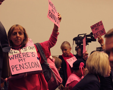 Code Pink interrupts Congressional Hearing