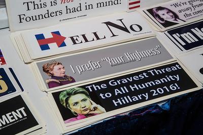 Values Voter Summit, Hillary Clinton