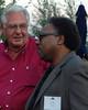 Leader Dick Armey (L) and Rev. C. L. Bryant