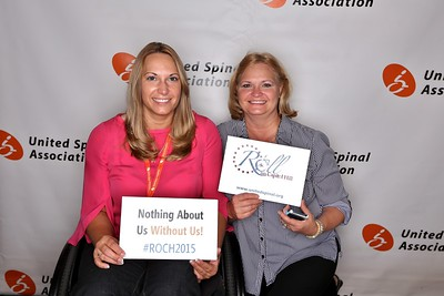 United Spinal Association's Roll on Capitol Hill 2015 Holly Petro and Mom