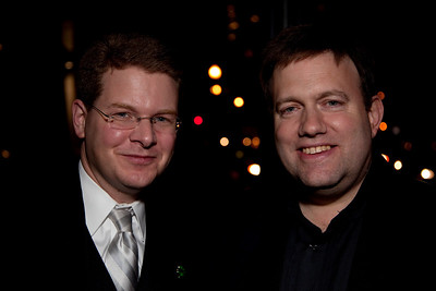 (unknown) and Republican pollster Frank Luntz