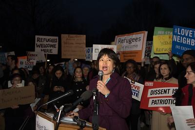 ACLU, Donald Trump, Travel Ban, Protest