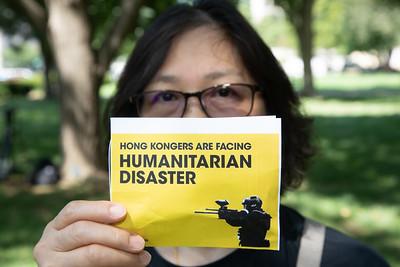 Hong Kong Protest in Washington D.C.