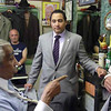 """Anybody who comes in here will be looking for you, and they will smell Chinese food, and that's not right!"" Congressman Rangel.tells Claudio Caponigro, whose new Chinese landlord, who purchased the building two years ago, has said he plans to install a Chinese takeout in the hallowed premises of a social center which once served members of the local Mafia, or so it is said, though Mr Caponigro has always followed a policy of not asking impolite personal questions of his customers, he says.  <br /> <br /> Of course, in what was the Genovese family enclave this was only sensible, but it led to an upsetting dustup with the FBI five years ago when they took exception to Claudio's preferring not to identify photos of the family members who were presumably clients, and he ended up indicted with others for racketeering.  Let off with probation, Montinigro is still justifiably ruffled by this unjust treatment, which smacks of punishment for entirely understandable reserve, and a diplomacy practiced by good barbers everywhere.<br /> <br /> As an old Italian adage hanging on the wall announces, after all, ""My grandpa lived so long because he minded his own F*****in business!"""