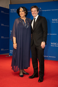 White House Correspondents' Association Dinner; Tammy Haddad; Jeff Glor