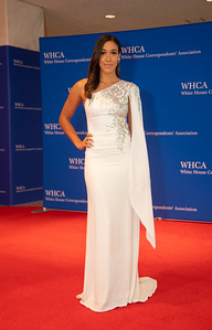 White House Correspondents' Association Dinner; Simone Boyce