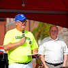 In September 2011, Councilor Richard Marchand, left, thanks everyone who put in the hard work for making Leominster's 18th Annual Johnny Appleseed Festival possible as Councilor Wayne Nickel stands by.<br /> SENTINEL & ENTERPRISE / BRETT CRAWFORD