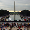 This photo taken at 7:30 a.m. - 100,000 plus people already on the mall.