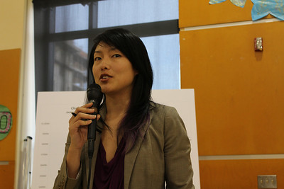 San Francisco District 6 Supervisor, Jane Kim.  NOTE►These photos look best if you maximize your browser window to full screen