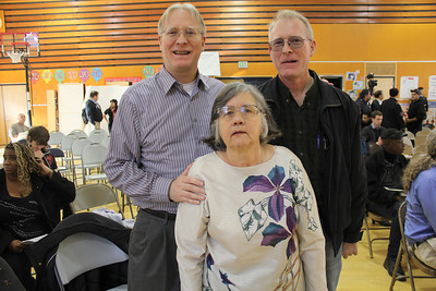 Left to right: Michael Nulty, Susan Byran and John Nulty - Three of the co-founders of Central City Democrats, Alliance for a Better District 6, and Tenant Associations Coalition of San Francisco among other community organizations formed.