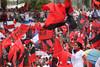 Sandinistas take part in the 30th anniversary celebrations of the Sandinista revolution in Managua July 19, 2009. (Australfoto/Nicolas Garcia)