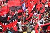 Sandinistas take part in the 30th anniversary celebrations of the Sandinista revolution in Managua July 19, 2009. (Australfoto/Nicolas Garcia)