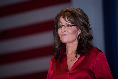 Sarah Palin speaks at CPAC on February 11, 2012. Thousands of conservative activists from around the country gathered at the Marriott Wardman Park Hotel in Washington DC on February 9-11, 2012 for the three day Conservative Political Action Committee, also known as CPAC 2012. Most of the major Republican candidates and conservative leaders were on hand with one unifying mission, defeating President Obama in November. (Photo by Jeff Malet)