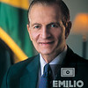 Portrait of Edward Seaga, Former Prime Minister of Jamaica