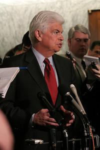 Sen. Chris Dodd news conference