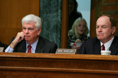 Sens. Chris Dodd, Richard Shelby