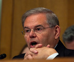Senator Robert Menendez (D-NJ) took offense to a ConocoPhillips press release that said the Democrats' plan to repeal  billion in oil company tax incentives is