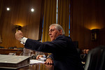 Rex Tillerson, Chairman and Chief Executive Officer, Exxon Mobil Corporation, gives vigorous testimony. The heads of five of the largest oil and gas companies in the world testified before t ...