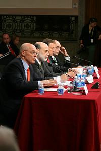 Henry Paulson, Ben Bernanke, Chris Cox, James Lockhart