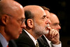 Senate Financial  'Bailout' Hearing : Sec. of Treasury Henry Paulson and Federal Reserve Chairman Ben Bernanke explain Pres. Bush's financial services proposal at a Senate Banking Cmte. hearing. (Sept. 23, 2008)