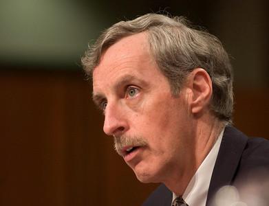 Thomas Pickard, former acting FBI director testifies at the Senate Hearings on the 911 disaster