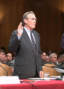 Senate armed services committee hearings on prisoner abuse at Abu Ghraib
