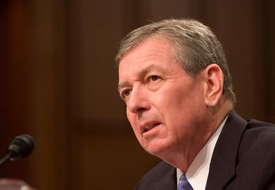 Attorney General John Ashcroft testifies at the Senate Hearings on the 911 disaster