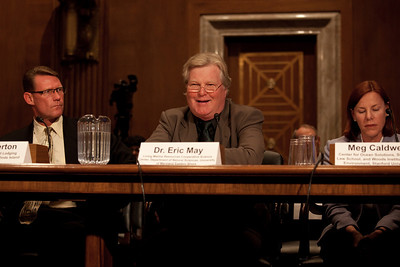 Experts on the impacts to local economies, fisheries and tourism, as well as wildlife and natural resources testify before the U.S. Senate Committee on Environment and Public Works investigating the recent oil spill in the Gulf of Mexico on Capitol Hill in Washington DC, Tuesday, May 11, 2010 (Photo by Jeff Malet)