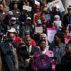 Yvette Clarke, Member of Congress, addresses the rally.