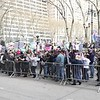 Press PLAY ►  (above) to see a short video.<br /> <br /> VIDEO: The Tax Day march sets off from Bryant Park to Trump Tower. It took the better part of an hour for all the marchers to pass this point—HUUUGGE!