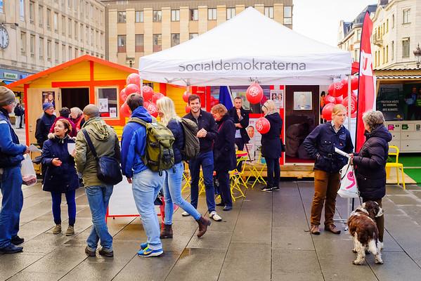 EU-valrörelsen i Uppsala 2014