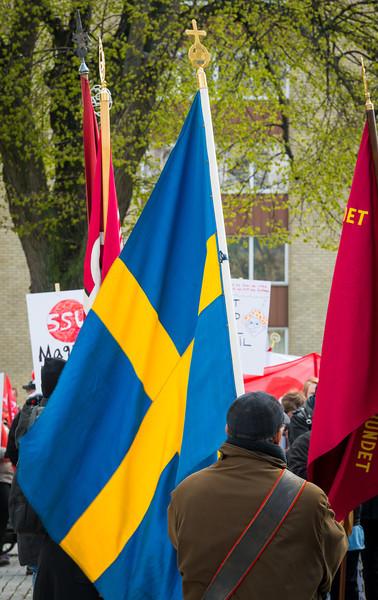 Första maj 2014 i Uppsala