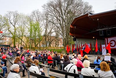Första maj 2016 i Uppsala