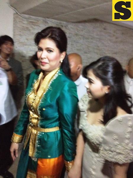 Rep. Lani Mercado and daughter Ina