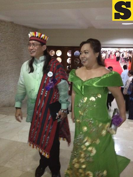 Rep. Teddy Baguilat and Rep. Kaka Bag-ao