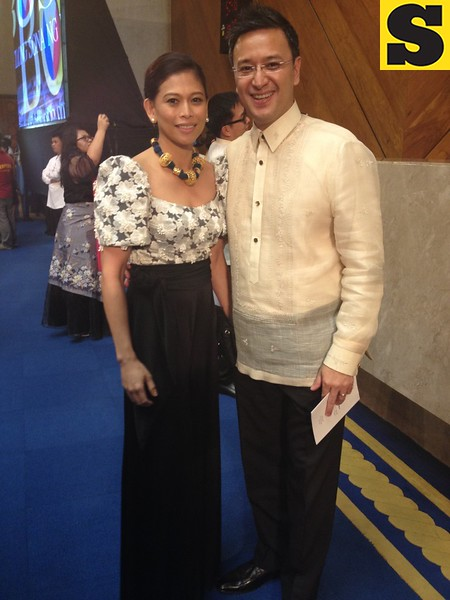 Marikina City Cong. Miro Quimbo with wife Stella