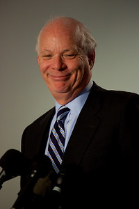 Sen. Benjamin Cardin (MD) gives a statement at the conclusion of the first day of the Sotomayor hearings