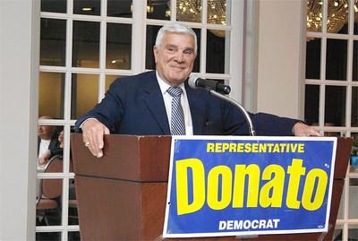 State Rep Paul Donato at Montvale Plaza - April 17, 2014