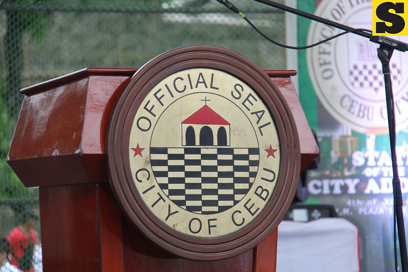 The official seal of Cebu City. (Nicko Tubo/Sunnex)