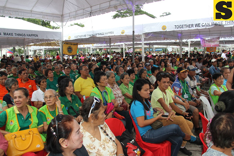 CEBU CITY. Different sectors from the city in attendance for the State of the City Address of Mayor Michael Rama on July 4, 2015. (Nicko Tubo/Sunnex)