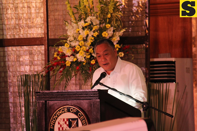 Governor Hilario Davide III delivers SOPA 2015